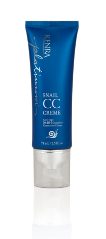 Introducing Kenra Platinum Snail CC Creme for Hair #SnailedIt