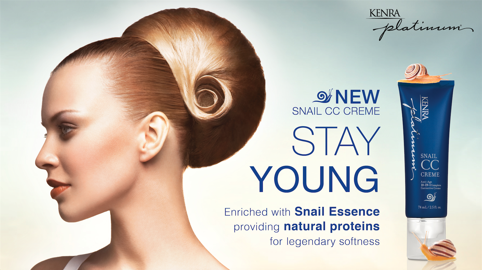 Kenra Platinum Snail CC Creme for Hair