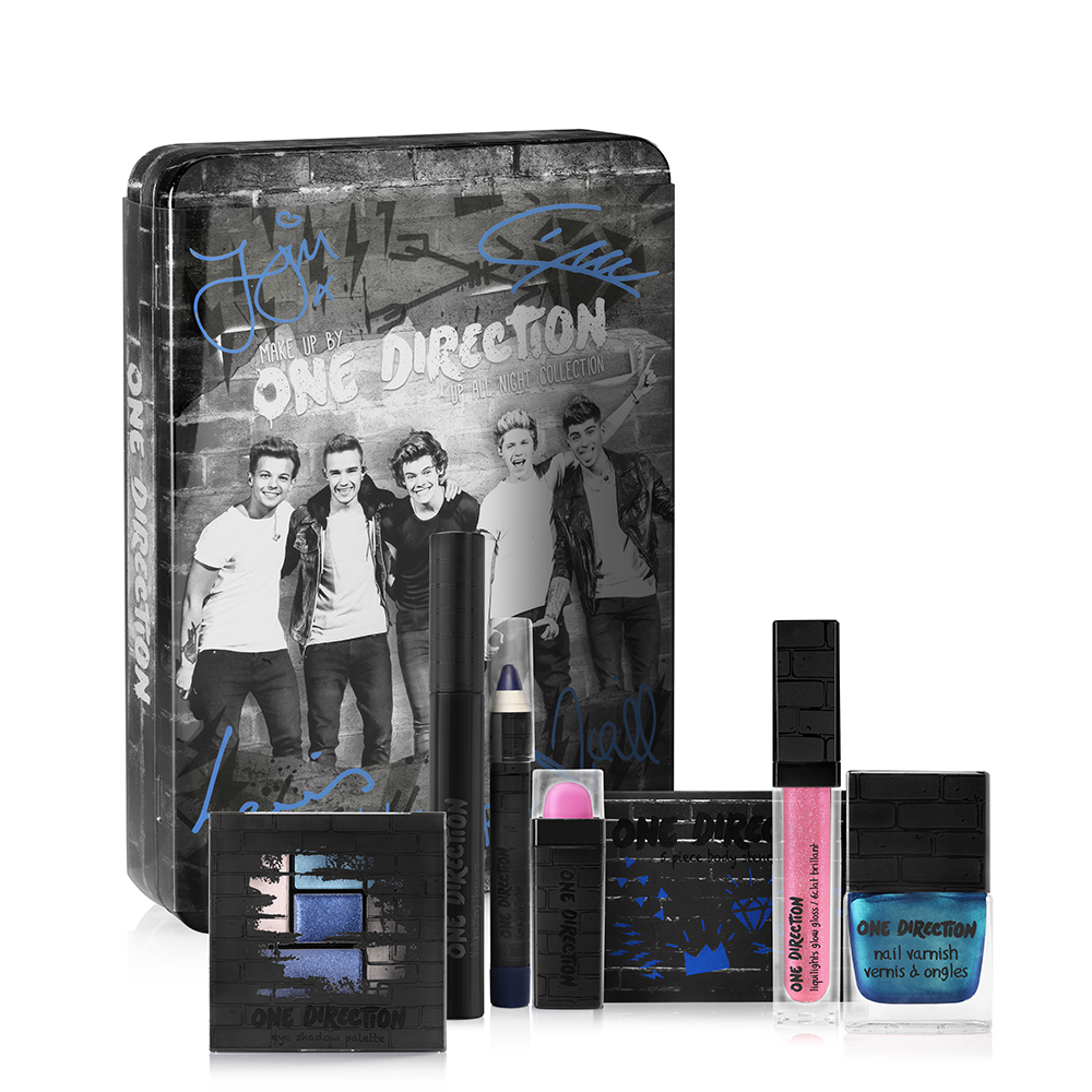 Exciting news for fans of One Direction and beauty - 1D's new makeup line will be launching in Macy's, Dillards, and other fine department stores in mid ...